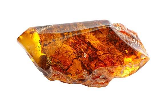 Amber gambling stone